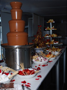 Indulge catering at the A1 Grand Prix